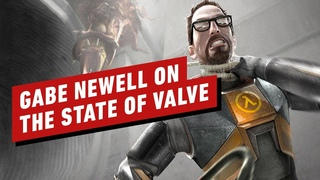 Gabe Newell Talks Half-Life Alyx Valve's Past and (Unexpected) Future IGN First