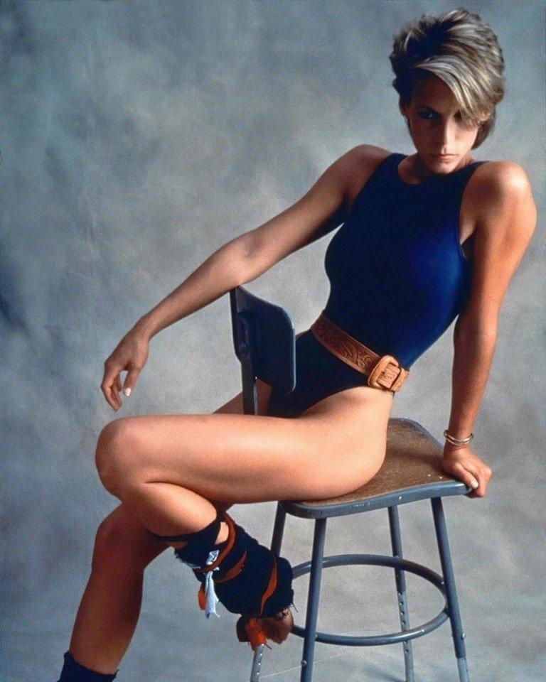 Джейми Ли Кертис - идеал 80х годов в мире фитнеса