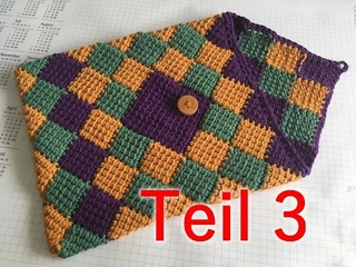 Tabletcase - Entrelac Part 3 - Veronika Hug