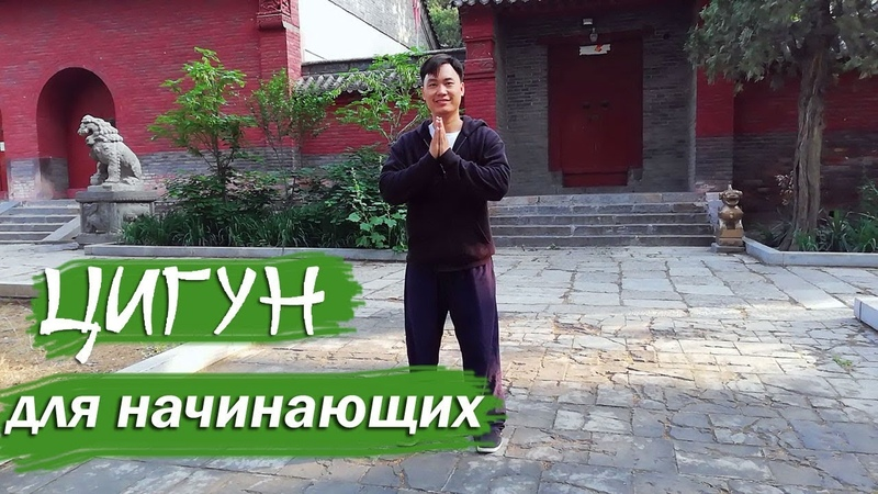 Цигун для начинающих Урок 1 русская озвучка теория практика