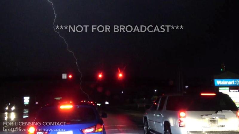 9 17 18 Fayetteville North Carolina Lightning and Heavy Rain
