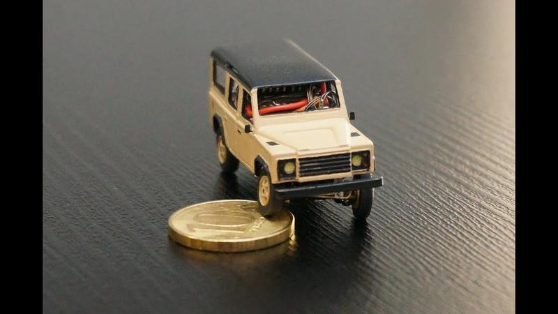 Внедорожник в масштабе 1 87 Land Rover Defender 110