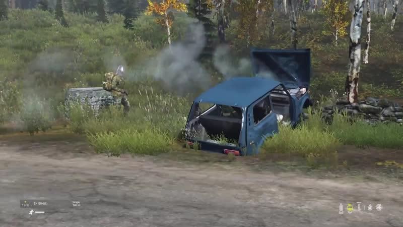 Four Guys, One Truck, One Survivor