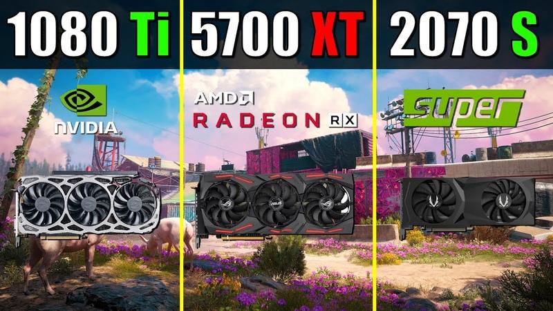 RX 5700 XT vs. RTX 2070 Super vs. GTX 1080 Ti   Test with Latest Drivers