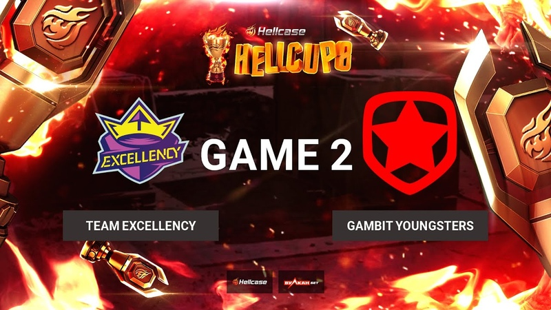 RU Team Excellency vs Gambit Youngsters Карта 2 Inferno BO3 Hellcase Cup 8 Группа B