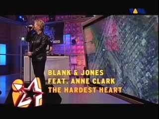 Blank Jones Feat Anne Clark - The Hardest Heart (Live VIVA Interaktiv)