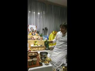 Калаша Пуджа Шри Лакшми Нарасимхи. Ягна и Абишекам