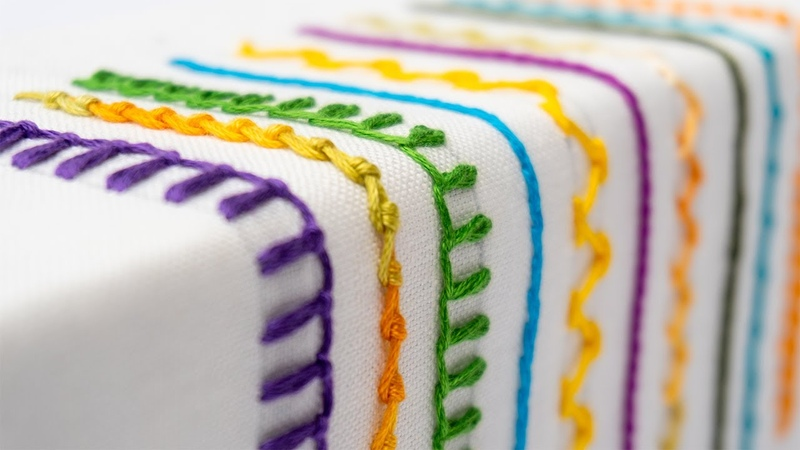 Extraordinary Hand Embroidery Stitches Step by Step Tutorial for Beginners