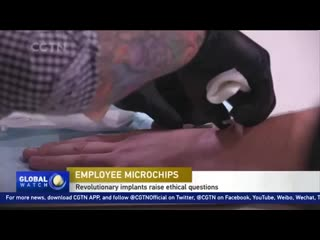 Employee microchip implants raise ethical questions