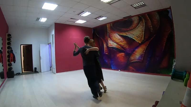 Аргентинское танго СашаТаня танго