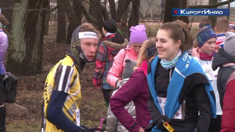 Этап городских соревнований по спортивному ориентированию Снежная Тропа в парке Дубки