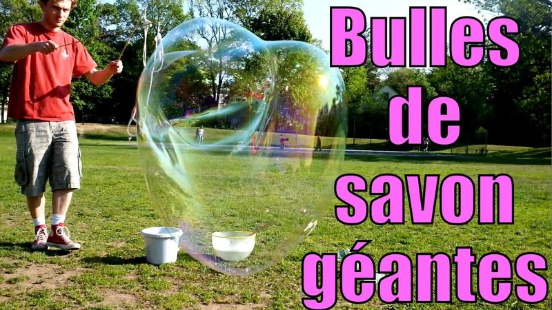Bulles de savon géantes Science étonnante 13