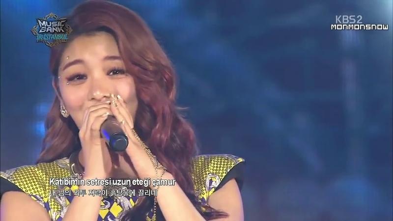 Koreli Kızdan Üsküdara Gideriken Şarkısı