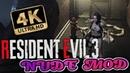 RESIDENT EVIL 3 REMAKE NUDE MOD Jill Valentine (4K 60fps)