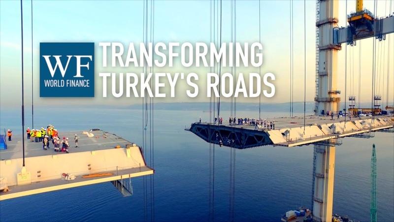 Gebze Orhangazi Izmir motorway Osman Gazi Bridge construction timelapse World Finance