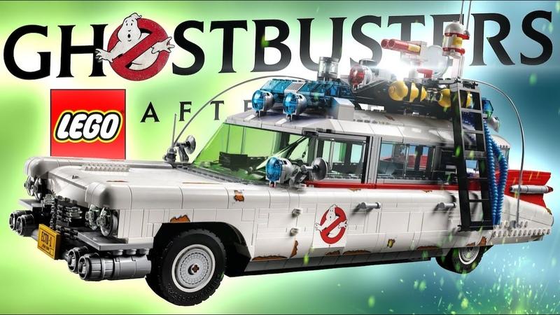LEGO Ghostbusters 10274 ЭКТО 1 из фильма Охотники за привидениями Наследники 2021