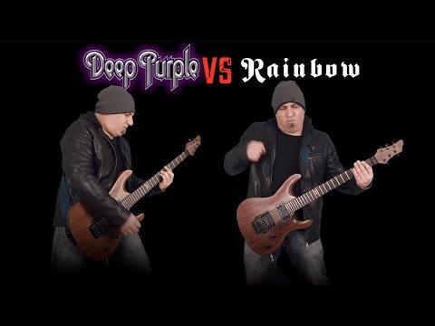 Deep Purple VS Rainbow (Guitar Riffs Battle)