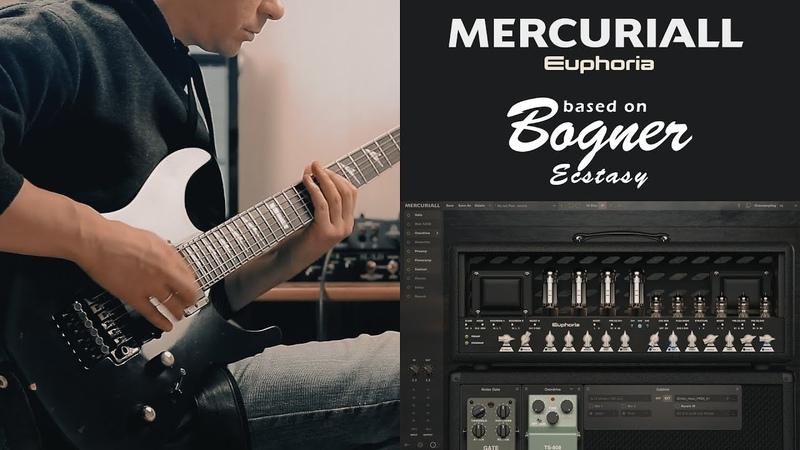 Mercuriall Euphoria (Bogner Ecstasy VST)   Metal Test
