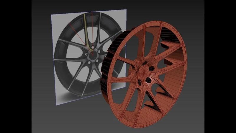 22 BMW Avtosiga diska yasaymiz 4 qism 3D Modeling 3ds Max