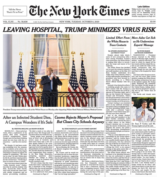 The New York Times - Oct 6 2020
