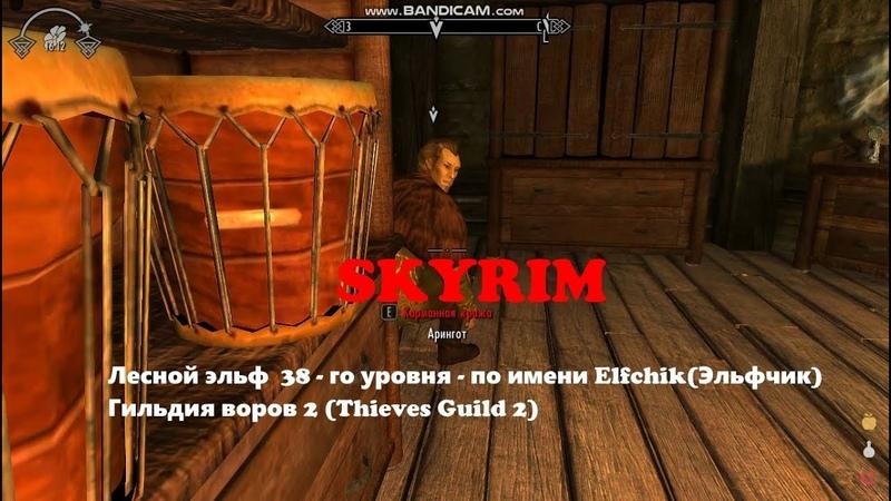 33 SKYRIM SLMP GR Эльфчик Elfchik Гильдия воров 2 Ясность Пчеловод и улья Thieves Guild 2