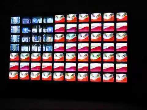 Nam June Paik - Video Flag