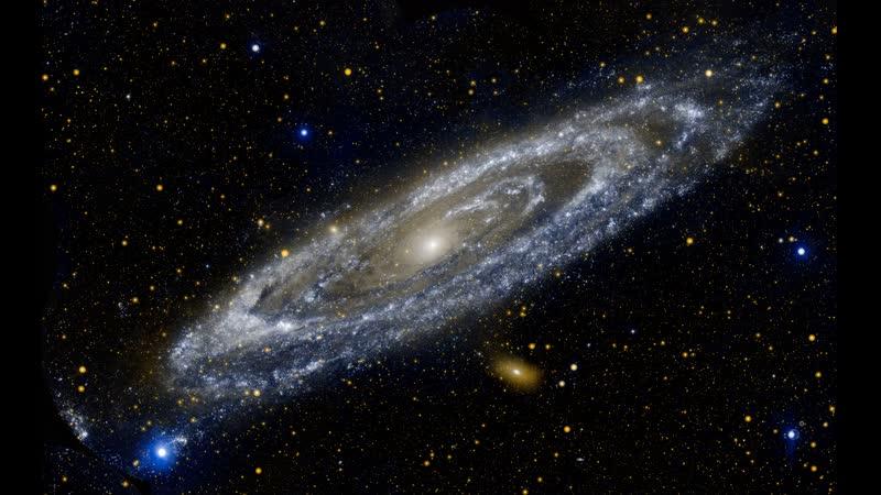 Приближение к галактике Андромеда