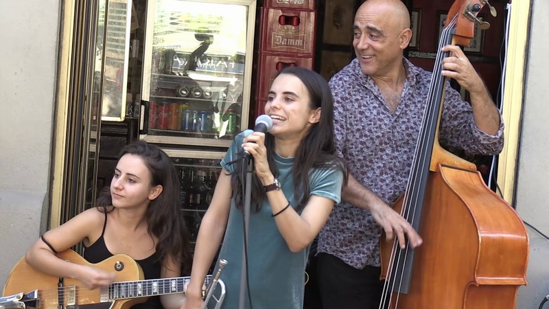 Andrea Motis y Joan Chamorro acercando su música a su barrio sant Andreu