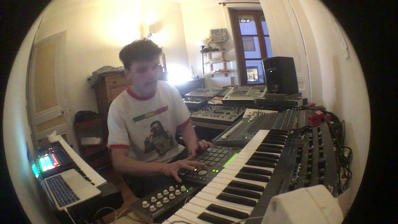 Sweely Home Grooves With AKAI MPC 1000 Vermona Kick Lancet APC 40 Ableton Live