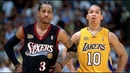 NBA 2001 Los Angeles Lakers vs Philadelphia 76ers Game 1 NBA Hardwood Classics