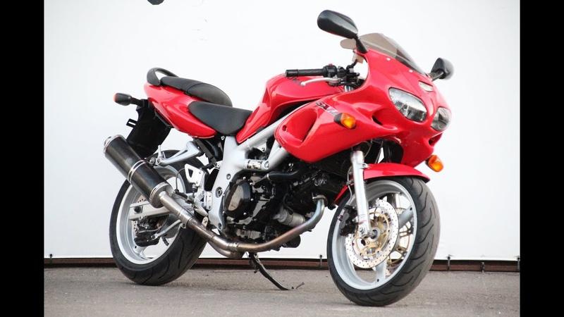 МОТОБАЗА.№ 1466 Suzuki SV 650 S 1999 год. WWW.MOTOBAZA.BIZ