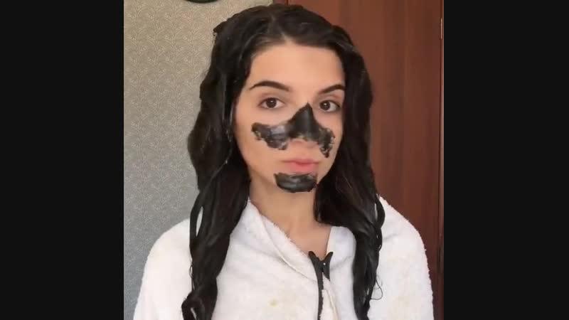 Женские секреты Питательная маска для волос маска от черных точек