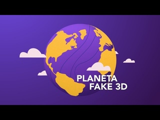 PLANETA FAKE 3D no Adobe AFTER EFFECTS | Tutorial