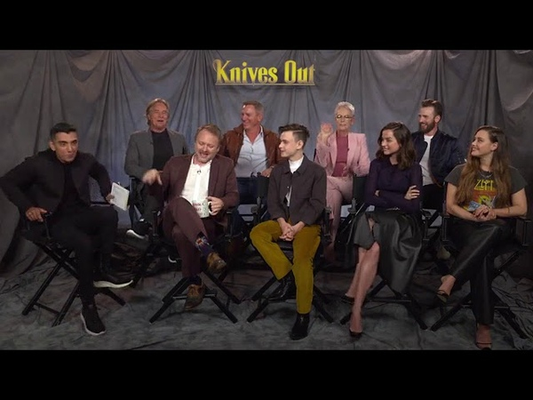 IMDB does a facebook live with the cast of Knives Out