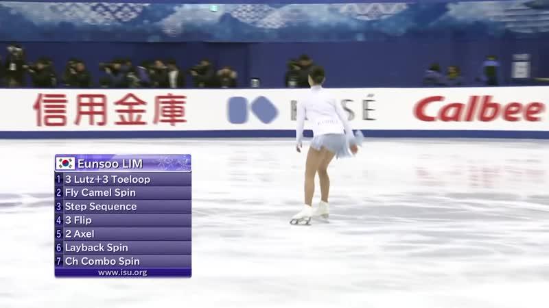 Ladies Short Program NHK Trophy 2019 @GPFigure Full HD