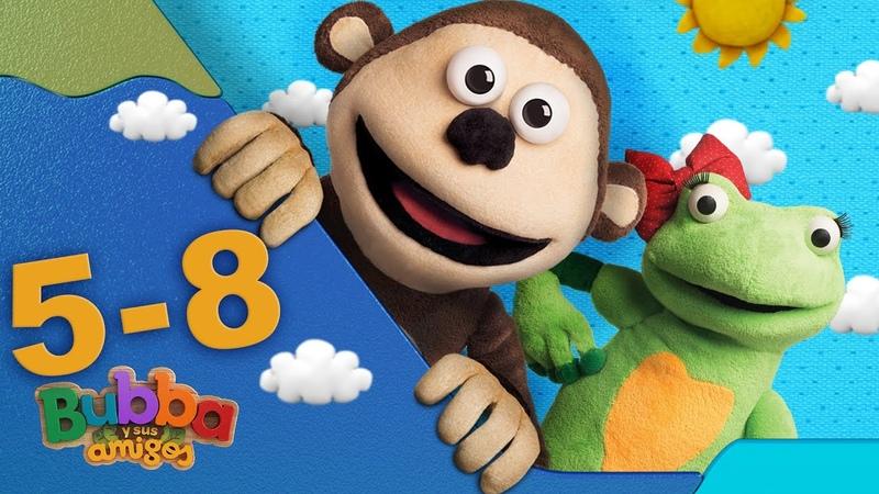 Mono Bubba y sus amigos Episodios 5 8 Videos infantiles