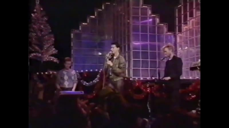 Depeche Mode Just Can`t Get Enough Top Of The Pops X mas Party BBC UK 25 12 1981