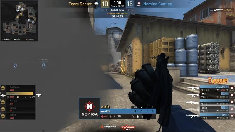 Team Secret vs Nemiga Gaming Game 1
