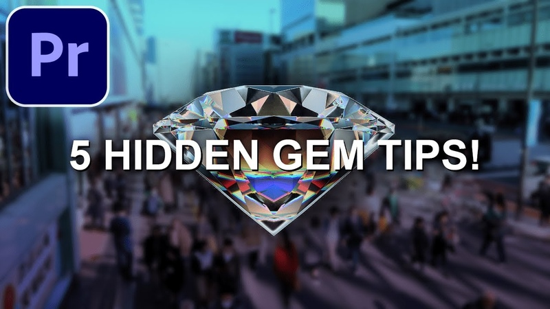 5 Hidden Gem Editing Tips in Adobe Premiere Pro CC Tutorial How to