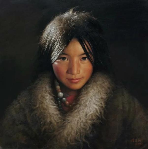 Тань Цзяньу () современный художник-реалист из Китая. Одной из любимых тем для него в творчестве является жизнь коренных народов Тибета, который он неоднократно посещал в поисках вдохновения.
