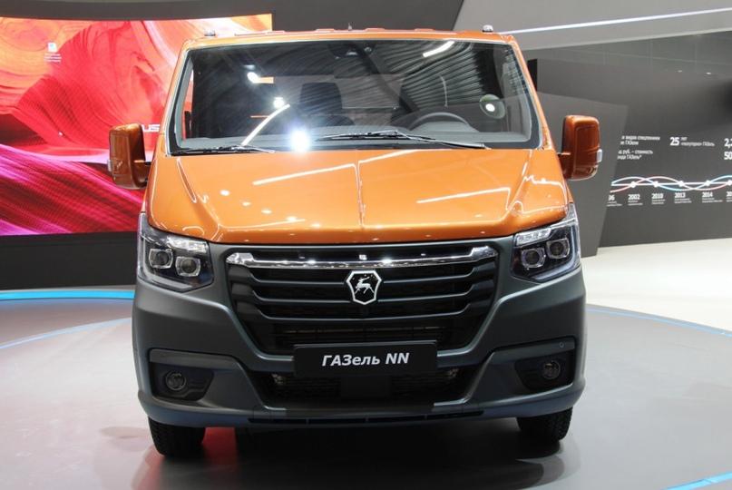 New Next: ГАЗ показал обновленную Газель на выставке Комтранс, изображение №1