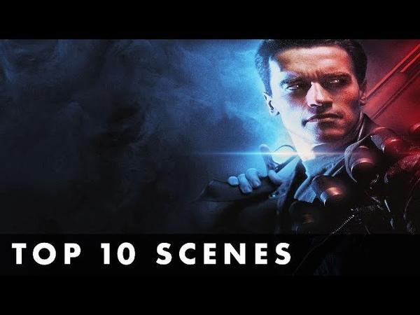 TOP 10 SCENES FROM TERMINATOR 2: JUDGEMENT DAY - Starring Arnold Schwarzenegger Linda Hamilton