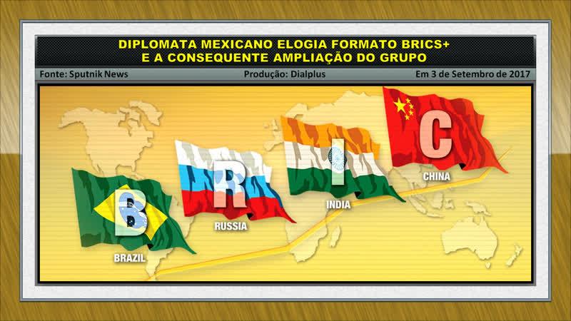 México Elogia Formato BRICS e a Consequente Ampliação do Grupo