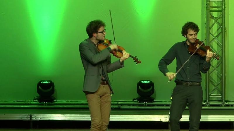 Jazz quartet Vision String Quartet For the birds Cello Akademie Rutesheim