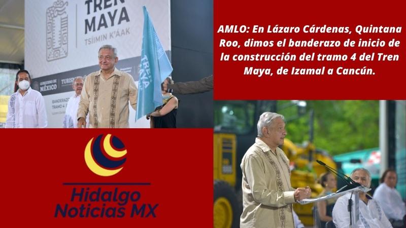 AMLO El Tren integrará toda la región maya de Tabasco Chiapas Campeche Yucatán y Quintana Roo