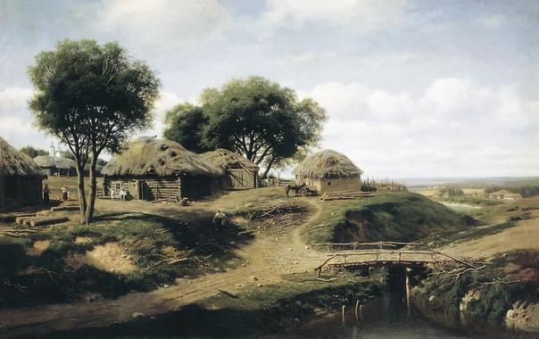 Михаил Клодт. В 1851-1858 учился в Петербургской Академии художеств, по окончании которой был послан пенсионером за границу. Работал в Швейцарии в Сев. Франции. В 1861 до окончания срока