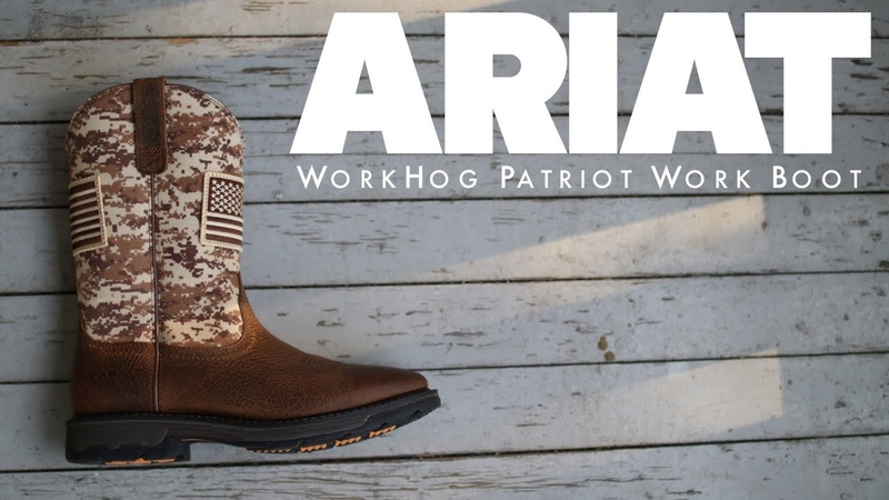 ARIAT WorkHog Patriot Work Boot The Boot Guy Reviews