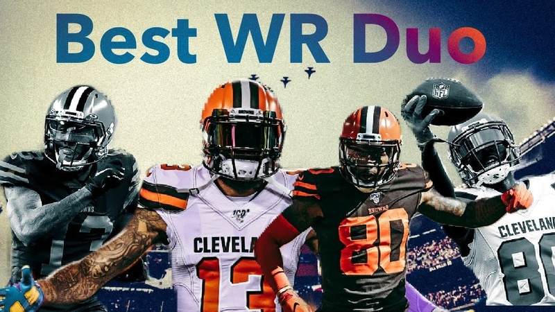 Best WR Duo in the NFL Odell Beckham Jr Jarvis Landry ᴴᴰ