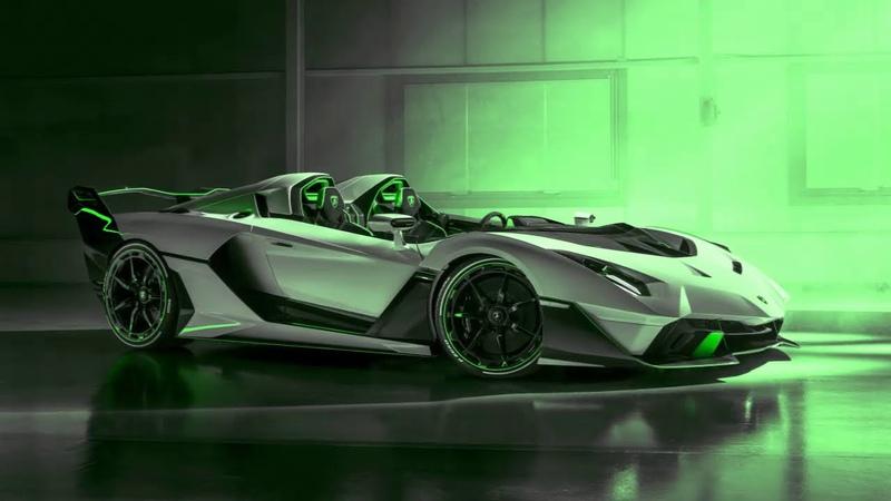Lamborghini Squadra Corse imzalı V12 motorlu benzersiz muhteşem spor otomobili