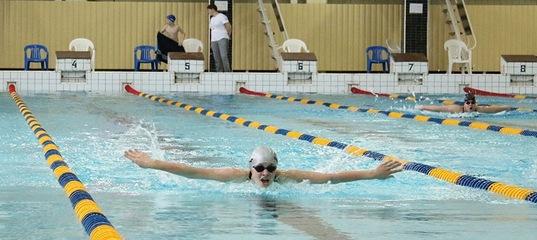 В бассейне ОИЯИ «Архимед» прошли соревнования спортивной школы «Дубна» по плаванию